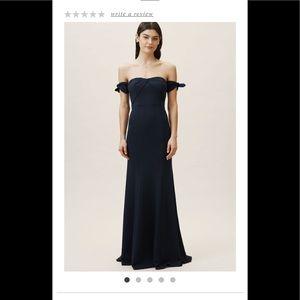 Watters Delilah Navy  dress size 4